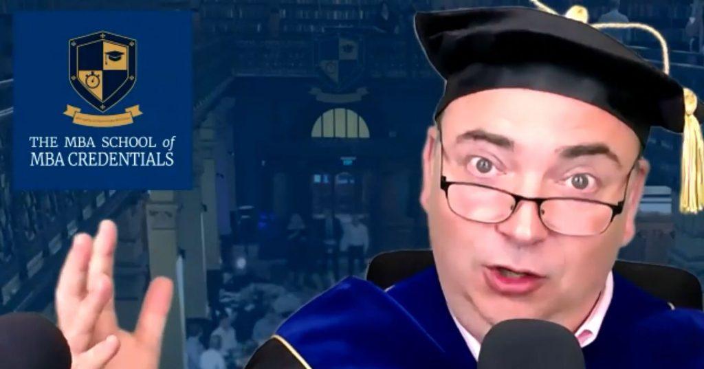 Professor Longsword interviewed by Media Insider Mark Aiston