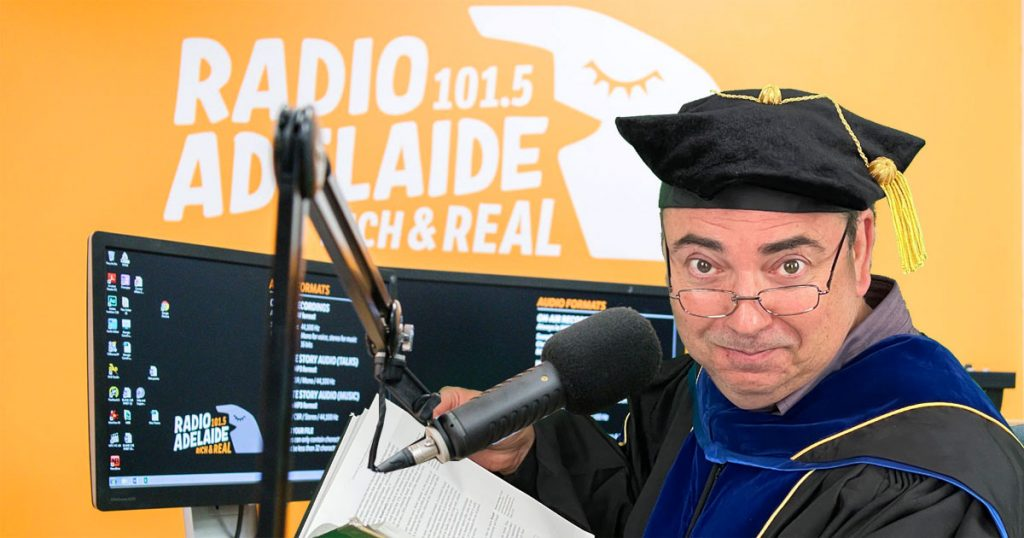 Adelaide breakfast radio music is hurting South Australian productivity - Professor Longsword on Radio Adelaide