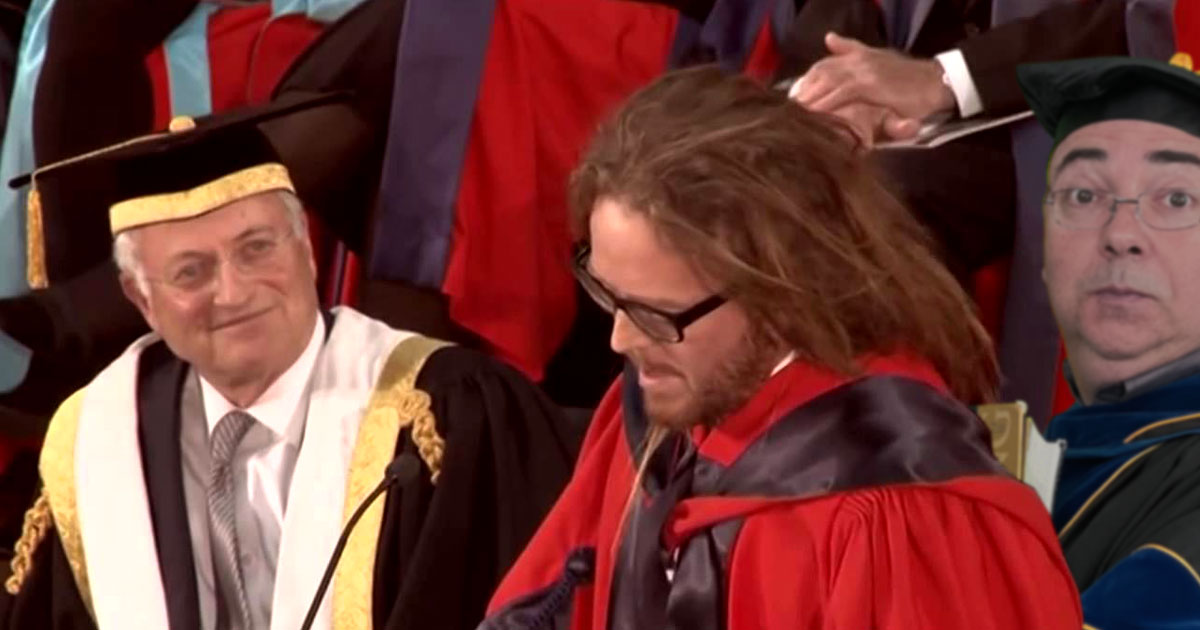 Tim Minchin is an exemplar of MBA Thinking and the Professor will carry his flame throughout the Adelaide Fringe