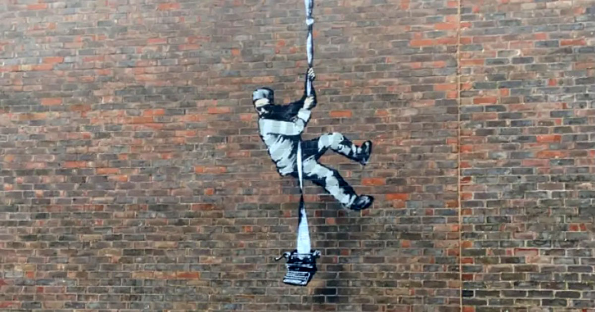 Banksy hacking workshop at The MBA School Of MBA Credentials