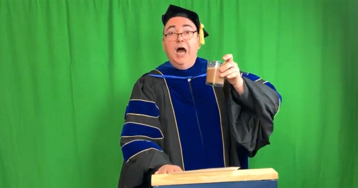 Professor Longsword's Lunchtime Lockdown Lecture